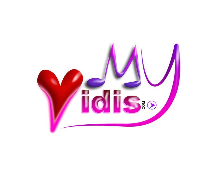 """Intrarea #501 pentru concursul """"Logo Design for MyVidis.com"""""""