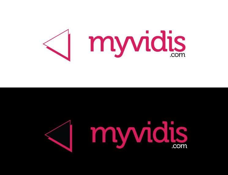 """Intrarea #456 pentru concursul """"Logo Design for MyVidis.com"""""""
