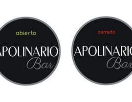 #37 untuk Diseñar un logotipo for Bar Apolinario oleh ericros16