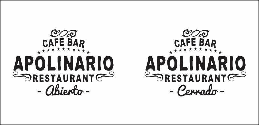 Penyertaan Peraduan #                                        17                                      untuk                                         Diseñar un logotipo for Bar Apolinario