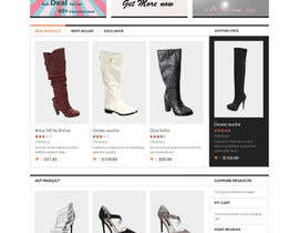 #18 pentru Website Design for Re-Design a Theme (Joomla E-Commerce) de către dragnoir