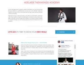 #23 для Website Design / Template Mockup for Martial Arts Club от Shiriharusha