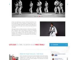 #24 для Website Design / Template Mockup for Martial Arts Club от Shiriharusha