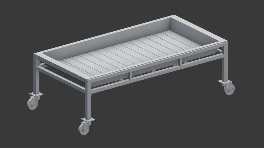 Entry #1 by Garzadaniel55 for 3D Model a rollings table