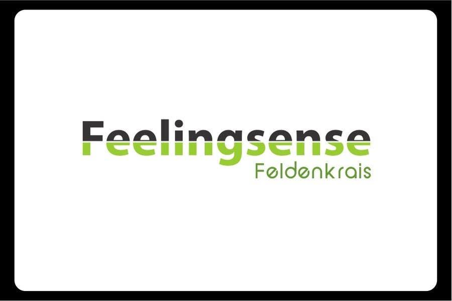 Penyertaan Peraduan #114 untuk Logo Design for Feelingsense Feldenkrais