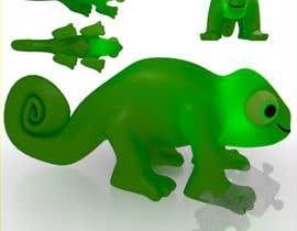 #15 untuk 3D mold design for Chameleon toy oleh Cobot