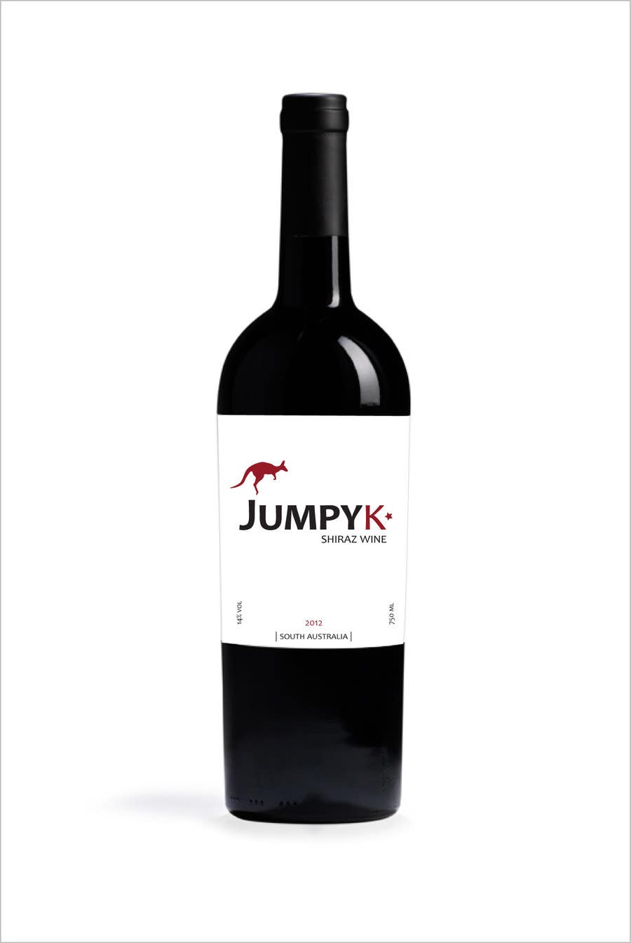 Contest Entry #71 for Print & Packaging Design for a wine brand