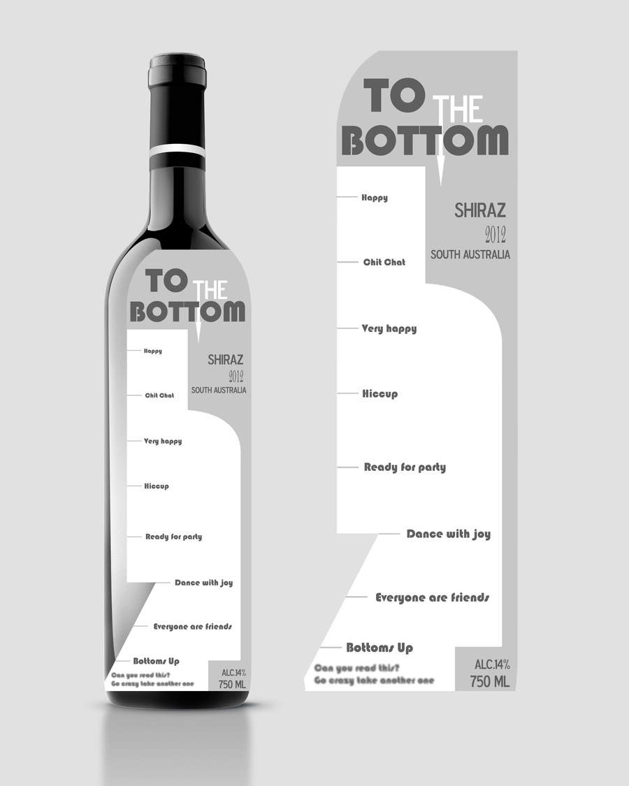 Contest Entry #76 for Print & Packaging Design for a wine brand