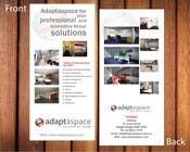 Graphic Design Конкурсная работа №22 для Graphic Design/ Marketing / Brochure Card for adaptaspace