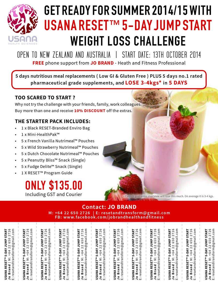 Design a Flyer for Weight Loss Challenge | Freelancer