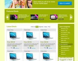 #48 untuk Website Design for TOTALFIVE.COM    (fiver clone) oleh Krishley
