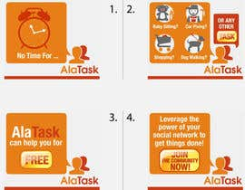 #21 for Banner Ad Design for AlaTask by jtmarechal
