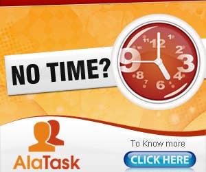 Конкурсная заявка №39 для Banner Ad Design for AlaTask