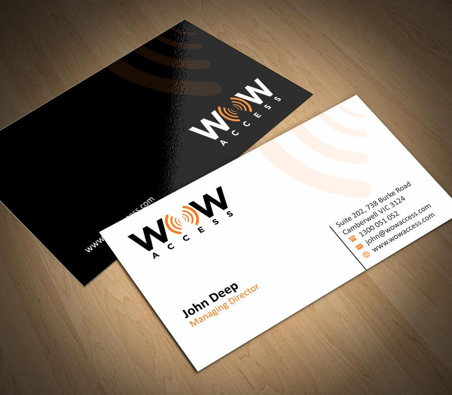 Entry #23 by ezesol for Design some Business Cards for an Internet ...