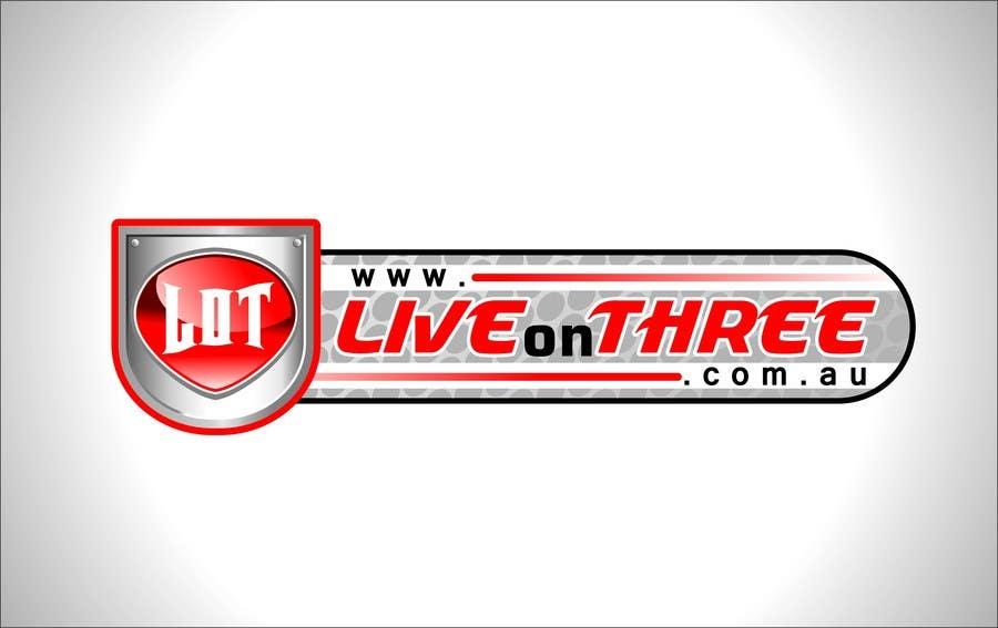 Inscrição nº                                         72                                      do Concurso para                                         Logo Design for www.liveonthree.com.au