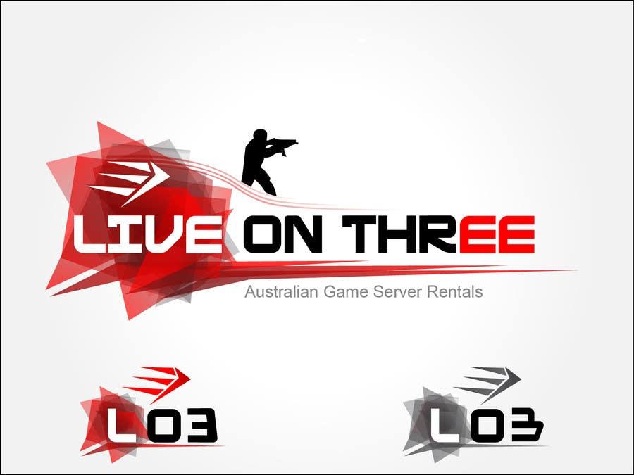 Inscrição nº                                         85                                      do Concurso para                                         Logo Design for www.liveonthree.com.au