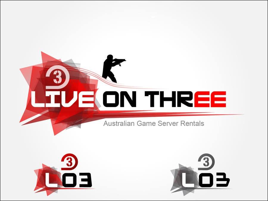 Inscrição nº                                         105                                      do Concurso para                                         Logo Design for www.liveonthree.com.au