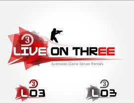 #105 for Logo Design for www.liveonthree.com.au af Arnisss
