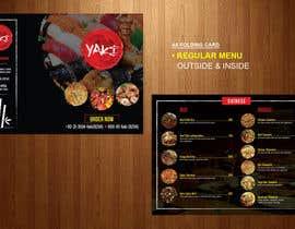 Nro 44 kilpailuun Design Resturant Menu Template käyttäjältä teAmGrafic