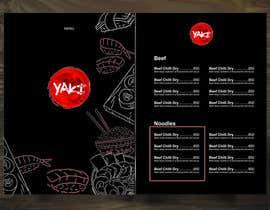 Nro 18 kilpailuun Design Resturant Menu Template käyttäjältä Aldiee