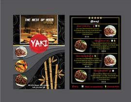 Nro 37 kilpailuun Design Resturant Menu Template käyttäjältä sampathwasala