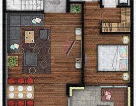 #12 for Hotel Rooms Illustration af RadojeS