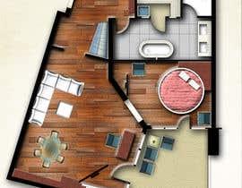 #22 for Hotel Rooms Illustration af abdomostafa2008