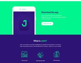 Nro 46 kilpailuun Design a Website+app Mockup käyttäjältä Jorgechicatti