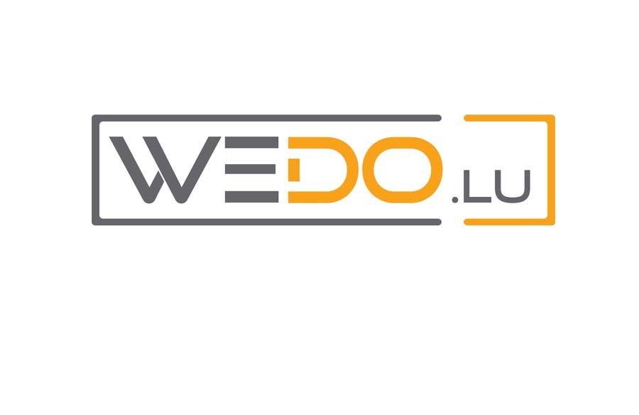 Entry #40 by zia161226 for Design a Logo - WeDo Lu | Freelancer