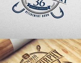 #139 para Bryan Murphy Retirement Logo por Roshei