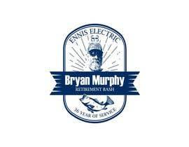 #295 para Bryan Murphy Retirement Logo por krisamando
