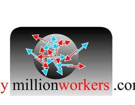 #214 , Logo Design for mymillionworkers.com 来自 vrd1941