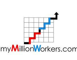 #216 , Logo Design for mymillionworkers.com 来自 vrd1941