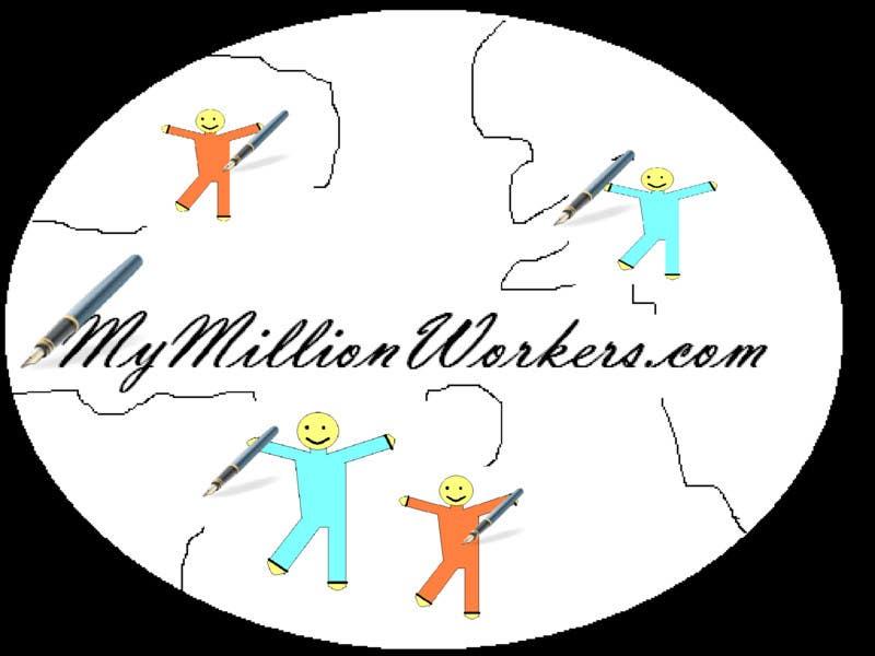 Contest Entry #89 for Logo Design for mymillionworkers.com