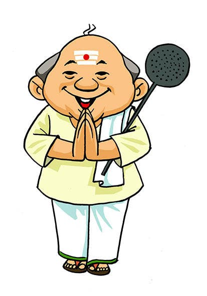 create an animation for south indian chef mascot freelancer