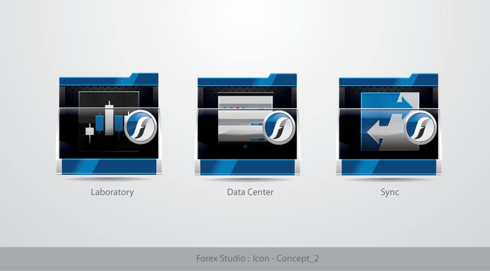 #194 for Application Icons for Forex Studio (Windows software) by TecImag