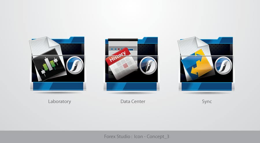 #184 for Application Icons for Forex Studio (Windows software) by TecImag