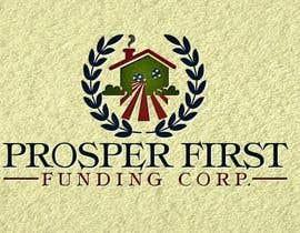Nro 48 kilpailuun Design a Logo for Prosper First Funding Corp. käyttäjältä WebDesignersGa