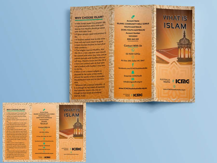 Entry #7 by sherinjahan62 for Islamic Brochure - What is