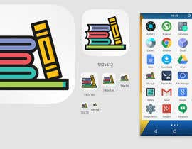 #13 for Launch icon for an app that lets parents share books with children af nihalhassan93