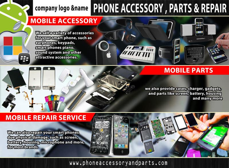 Contest Entry #16 for Banner Ad Design for Phone accessory and Parts