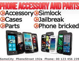 #6 untuk Banner Ad Design for Phone accessory and Parts oleh Brieg
