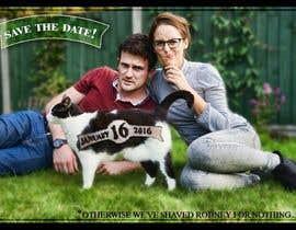 yassinmatrix tarafından Wedding invite photo with date shaved into the cat's fur - very unique brief! için no 65