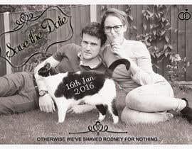 janisbendiks tarafından Wedding invite photo with date shaved into the cat's fur - very unique brief! için no 74