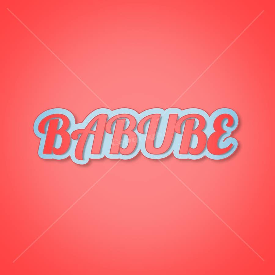 Penyertaan Peraduan #                                        38                                      untuk                                         Design a new logo for babube.com