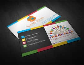 #10 para Design  Business Cards double sided por makiskyrkos