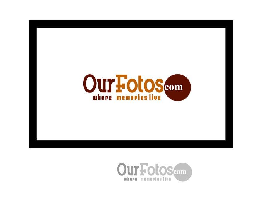 Inscrição nº                                         88                                      do Concurso para                                         Logo Design for OurFotos.com - where memories live.