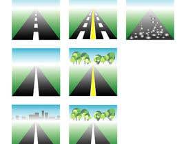 #24 para Design a set of road icons por juraana