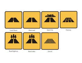 #6 para Design a set of road icons por erwantonggalek