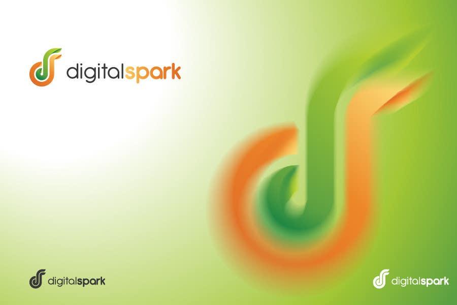 Konkurrenceindlæg #                                        89                                      for                                         Logo Design for Digitalspark